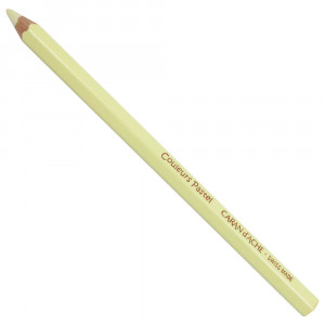 Lápis Jumbo Caran D'Ache Pastel Amarelo