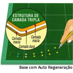 Base de Corte OLFA Rotativa Manta 30x30cm