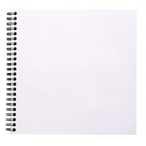 Caderno Dot Book Rhodia 21X21cm Capa Preta