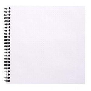 Caderno Dot Book Rhodia 21X21cm Capa Laranja