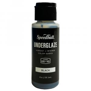 Esmalte Underglaze Para Cerâmica Speedball 1016 Black