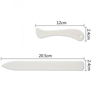 Espátulas de Plástico Para Dobradura Sinoart 02 Unidades