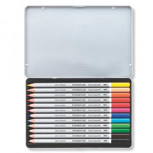 Lápis Aquarelável Karat Staedtler 12 Cores 125M12