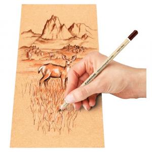 Kit Lápis Pastel Staedtler Lumograph 5 Cores (Default)