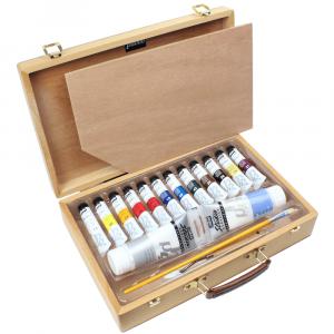 Estojo Tinta Acrílica Importada Pebeo Atelier Case