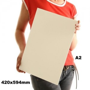 Placa Foam Board A2 Branco 5mm