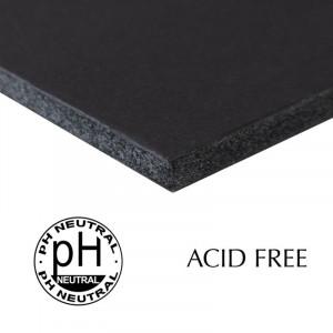 Papel Foam Board Livre de Ácido 70x100cm Preto 5mm