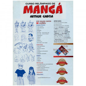 Curso Relâmpago de Mangá II - Arthur Garcia