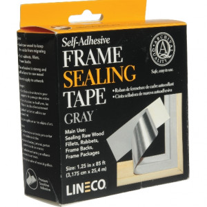 Fita Adesiva Lineco Frame Sealing Cinza L387-0151