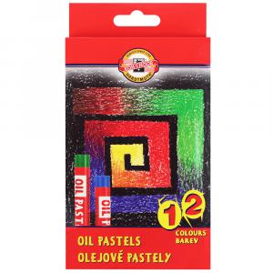 Pastel Oleoso Koh-I-Noor 12 cores