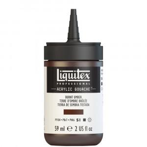 Tinta Acrílica Guache Liquitex 59ml S1 128 Burnt Umber