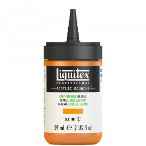 Tinta Acrílica Guache Liquitex 59ml S2 892 Cadmium Free Orange
