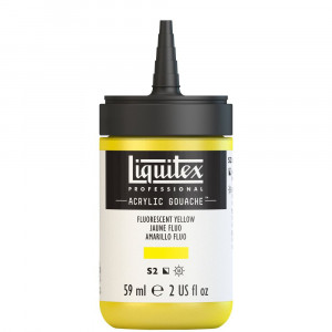 Tinta Acrílica Guache Liquitex 59ml S2 981 Fluo Yellow