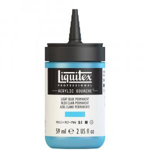 Tinta Acrílica Guache Liquitex 59ml S1 770 Light Blue Permanent