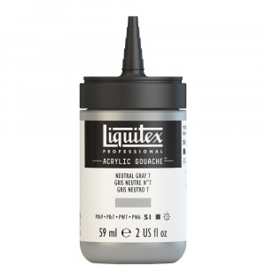 Tinta Acrílica Guache Liquitex 59ml S1 600 Neutral Grey 7