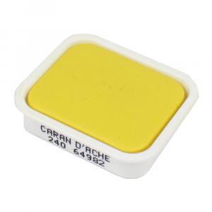 Tinta Guache Studio Caran d'Ache Pastilha 240 Lemon Yellow
