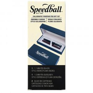 Estojo Caligrafia Caneta Tinteiro Speedball 2907