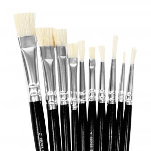 Kit de Pincéis Para Pintura em Tela ArtWorks 10 Unidades