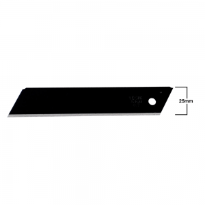 Lâmina KDS EVO Black Para Estilete 25mm HB-10B 10 Peças