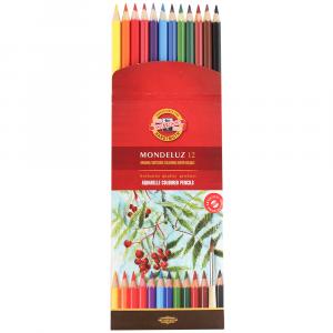 Lápis Aquarelável Arte Koh-I-Noor 12 Cores 3716
