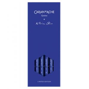 Estojo de Lápis Caran d'Ache Graphite Klein Blue Colecionador
