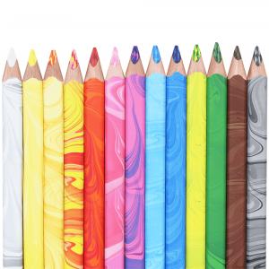 Lápis de Cor 3 em 1 Multicolorido 12 Cores 3408