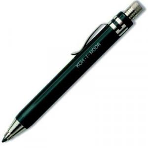 Lapiseira 3.2mm Koh-I-Noor Preto Luxo 5358