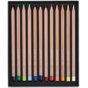 Lápis de Cor Caran d'Ache Luminance 12 Cores