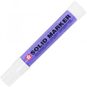 Marcador Industrial Permanente Solid Marker Branco