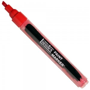 Marcador Liquitex Paint Marker 4mm 4620311 Cadmium Red Deep Hue