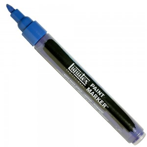 Marcador Liquitex Paint Marker 4mm 4620316 Phthalocyanine Blue (Green Shade)