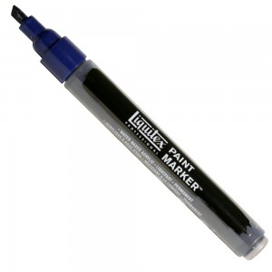 Marcador Liquitex Paint Marker 4mm 4620320 Prussian Blue