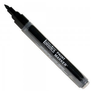 Marcador Liquitex Paint Marker 4mm 4620337 Carbon Black