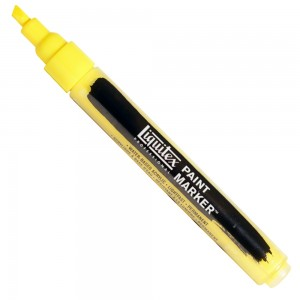 Marcador Liquitex Paint Marker 4mm 4620412 Yellow Medium Azo