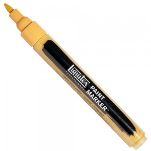 Marcador Liquitex Paint Marker 4mm 4620416 Yellow Oxide