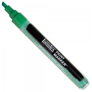 Marcador Liquitex Paint Marker 4mm 450 Emerald Green