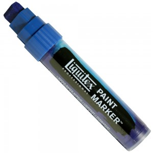 Marcador Liquitex Paint Marker 15mm 4610316 Phthalocyanine Blue (Green Shade)