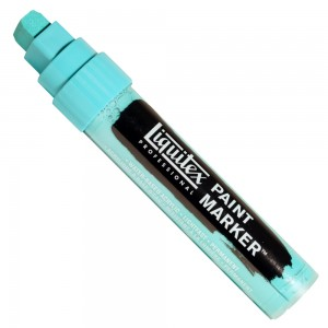 Marcador Liquitex Paint Marker 15mm 4610660 Bright Aqua Green