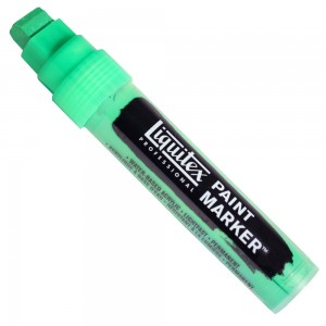 Marcador Liquitex Paint Marker 15mm 4610985 Fluorescent Green