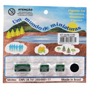 Miniatura de Sofá 1/100 674 Minitec 04 Peças