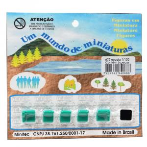 Miniatura de Sofá 1/100 672 Minitec 06 Peças