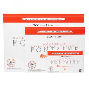 Papel Para Aquarela Fontaine 12x18cm 300g Clairefontaine