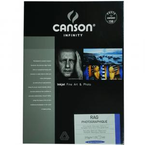Papel Impressão Infinity Rag Photographique 310g/m² A3 25 Fl