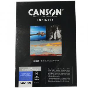 Papel Impressão Infinity Rag Photographique 310g/m² A4 25 Fl