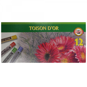 Pastel Seco Koh-I-Noor 12 Cores 8512