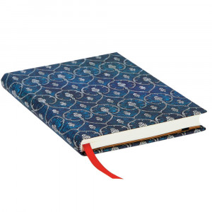 Paperblanks Blue Velvet Capa Dura Midi Pautado
