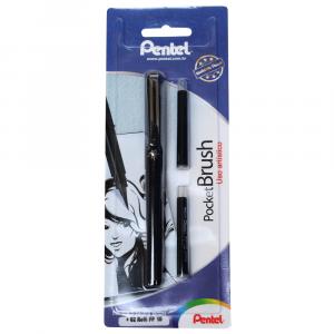 Caneta Pincel Recarregável Pentel Pocket Brush