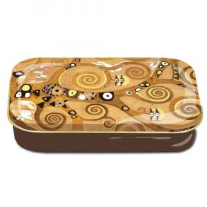 Estojo Porta Objetos Grandes Artistas Gustav Klimt