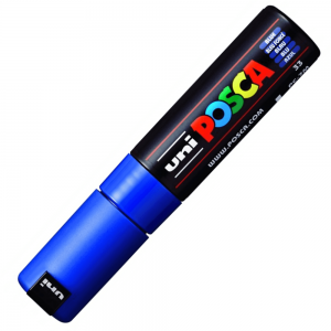 Caneta Posca Uni Ball PC-7M Azul