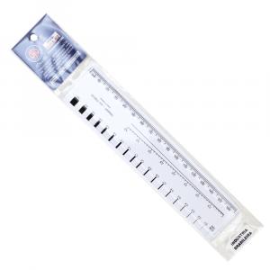 Régua Fissurômetro Trident FISS-02